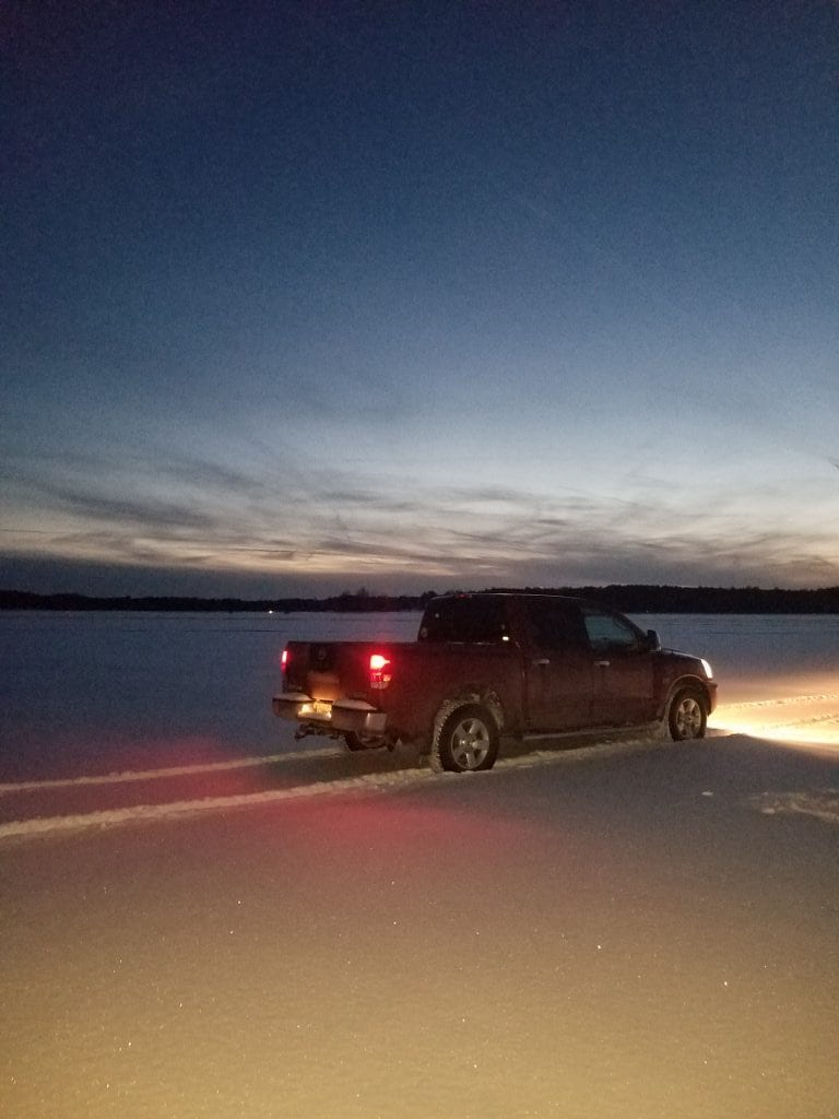 Lakes report from Lou's truck